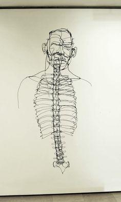David Miguel Oliveira Metal Wire Sculpture