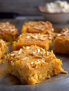 Carrot cake with almonds and rum. Divine good and softy carrot.just melts in your mouth Melt In Your Mouth, Carrot Cake, Carrots, Muffin, Breakfast, Almonds, Tarts, Rome, Carrot Cake Loaf