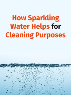 Everybody knows that sparkling water makes puffy pancakes and attractive cocktails, but it may have other fantastic benefits in the kitchen as well. Here are several uses of sparkling water that will help you too. How To Clean Furniture, Furniture Cleaning, Sparkling Mineral Water, Water Benefits, Dish Detergent, Natural Glow, Drinking Water, Cleaning Hacks, Helpful Hints