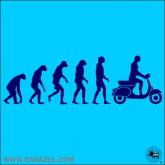 The history of evolution Hipster Drawings, Couple Drawings, Easy Drawings, Pencil Drawings, Piaggio Scooter, Vespa Lambretta, Motor Scooters, Vespa Scooters, Vespa Illustration