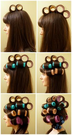 #diy #hair #tutorial #rolls