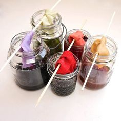 Make Natural Dyes With Leftover Fruits and Vegetables... so doing this