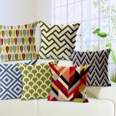 g nstige papst geometrischen dicker baumwolle kissen. Black Bedroom Furniture Sets. Home Design Ideas