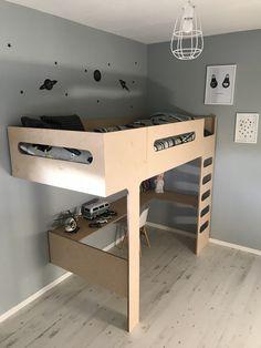 Homemade Bunk Beds, Diy Bed, Kidsroom, Small Rooms, Built Ins, Interior Design Living Room, Plywood, Furniture, Bathroom