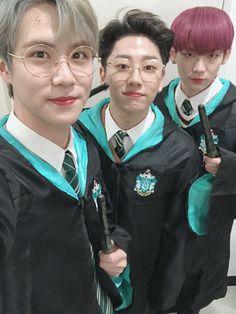 Donghan, Taehyun, & Kenta