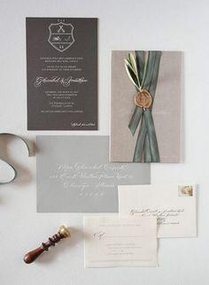 ... in custom wedding invitations