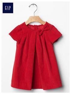 Red xmas dress Baby girl