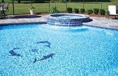 Pool Mosaics - Blue Haven Custom Swimming Pool and Spa Builders