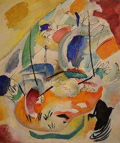 Improvisation 31 (Sea Battle) by Wassily Kandinsky (1913) by Uergevic, via Flickr