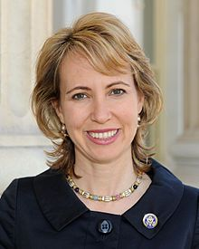 Gabby Giffords (before)