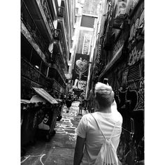 You change for two reasons: either you learn enough that you want to or you have been hurt enough that you have to.  #blackandwhite #blonde #melbourne #australia #quote #hosierlane #streetart #painting #love #travel #instatravel #travelling #livingthedream #undhep #faith #ynwa by torbilette17