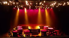 using festoons with traditional carbon filament globes and traditional lighting fixtures (no movers) to create a swanky cabaret club Cabaret, Lighting Ideas, Lighting Design, Traditional Lighting, After Dark, Globes, Palm, Core, Purple