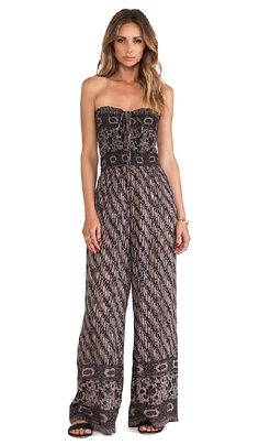 The perfect summer boho look, no need to mix and match! Free People Vintage Tube Romper