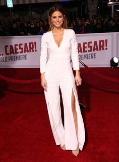 "Celebrities attend Premiere Of Universal Pictures' ""Hail, Caesar!"" at Regency Village Theatre Los Angeles. Featuring: Maria Menounos Where: Los Angeles, California, United States When: 02 Feb 2016 Credit: Brian To/WENN.com"