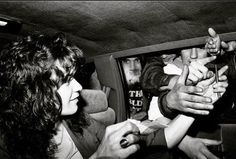 Edward Van Halen and some fans