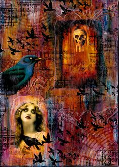 Artful Evidence: Collage - Haunted