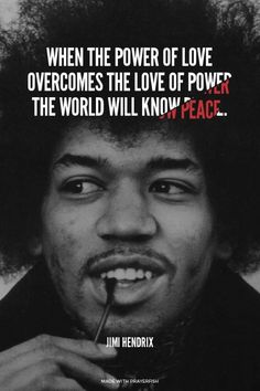 The Power of Love by Jimi Hendrix