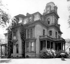 The Theodore Sheldon Mansion in Red Wing, MN as it was originally built in 1876