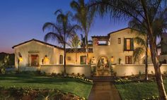 Homes with Mexican Courtyards | wine country house the courtyard design floods homes with light and ...