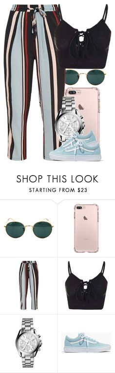 """Untitled #5289"" by dianna-argons-lover ❤ liked on Polyvore featuring Ray-Ban, Topshop, Michael Kors and Madewell"