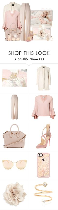 """""""~Just for you~"""" by li-lilou ❤ liked on Polyvore featuring Dorothy Perkins, STELLA McCARTNEY, Milly, Givenchy, Christian Louboutin, Quay, Casetify and Cara"""