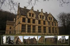Wonderful Castles and Mansions That Are Haunted by Tragic Ghosts - Woodchester Mansion, Woodchester, Gloucestershire, England The construction of this mansion started in 1858, but the builders abandoned it fifteen years later. It's complete from the outside, but rooms and floors are missing.