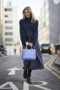 Pin for Later: Street Style bei der London Fashion Week LFW Street Style