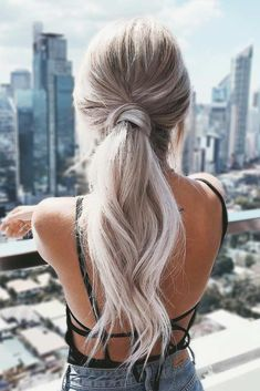 36 Amazing Graduation Hairstyles For Your Special Day, HAİR STYLE, Beautiful Low Ponytail For Elegant Ladies picture Ponytail Updo, Elegant Ponytail, Twist Ponytail, Ponytail For Prom, Bridesmaid Hair Ponytail, Low Ponytails, Bridal Ponytail, Simple Ponytails, Debs Hairstyles