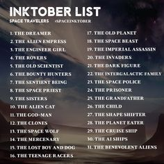 DROP THE DRAWING — Preparing for Inktober 2017? #Hashtags now...