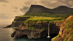 Lake Sorvagsvatn, Faroe Islands