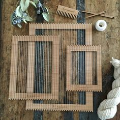 Complete Set of Weaving Lap Looms Want it all or to share it with friends and family?? This kit is for you!  What you receive in this kit: 1x Mini