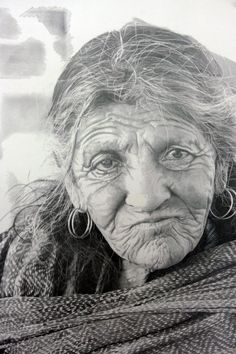 "Paul Cadden is a Scottish hyper-realist artist who creates incredibly realistic artworks using only graphite and chalk. His drawings and paintings are made based upon  series of photographs or video stills, but the subject depicted is much more complex, creating ""the illusion of a new reality not seen in the original photo""."