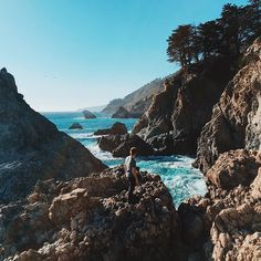 Big Sur - Photo by IG user cody.hanson. #olloclip #ocean #nature #mobilephotography