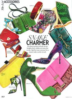 Our Offdahook sandal is in @FASHION Magazine for April 2013! Click through to shop the shoe: