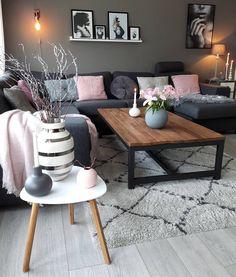 The Best 2019 Interior Design Trends - Interior Design Ideas Home Living Room, Apartment Living, Interior Design Living Room, Living Room Designs, Living Room Decor, Living Spaces, Living Area, Deco Zen, Living Room Inspiration