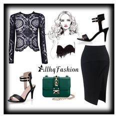 """Allhqfashion 1"" by b-mubera ❤ liked on Polyvore featuring Maticevski, Valentino and allhqfashion"