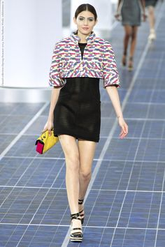 chanel 2013 collection | Chanel collection (Spring-Summer 2013, Paris Fashion Week) 021.jpg ...