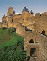 Carcassonne - 09 - Porte d'Aude et Chateau comtal (2).jpg