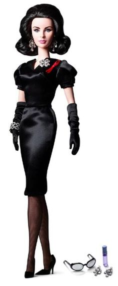 Elizabeth Taylor with Violet Eyes Silkstone Doll