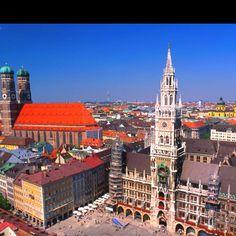Glockenspiel clock Munich