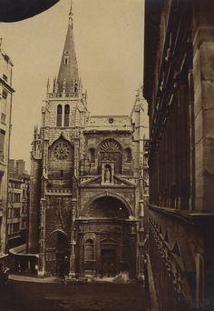 André Victoire - Church of St. Nizier, Lyon, 1860