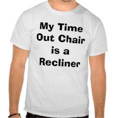 Seniors Time Out Tshirt