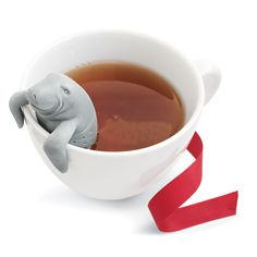 Fred Manatea Tea Infuser | Sur La Table. If my husband sees this I want one for Christmas!