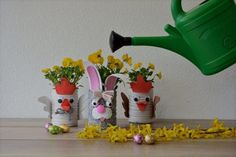 CREA CON NOI - I buffi vasi pasquali Watering Can, Tutorial, Canning, Home Canning, Conservation