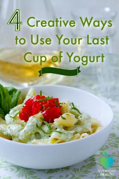 Make your favorite #recipes with a cup of #yogurt.