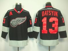 f4d3f9dfac0 Detroit Red Wings Black Ice jersey. this is freakin awesome. MUST. HAVE.