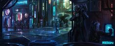 """Satellite Reign (""""A real-time, class-based strategy game, set in an open world cyberpunk city, from the creator of Syndicate Wars."""") http://steamcommunity.com/sharedfiles/filedetails/?id=157080530"""