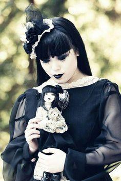 Model: Carmilla Jo Photographer: Terrence Taylor Makeup Artist: Terry Alabata - Eco Makeup Artist/Hairstylist Designer/Stylist: Prince Noir Welcome to Gothic and Amazing Gothic Dolls, Gothic Lolita, Steampunk, Dark Beauty, Gothic Beauty, Gothic Art, Death Metal, Dark Fashion, Gothic Fashion
