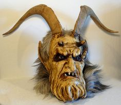Scare The Kids With This Krampus Mask - Creepbay