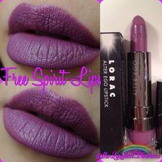 Lorac alter ego lipstick in free spirit Purple Lipstick, Lipsticks, Makeup Dupes, Makeup Kit, Beauty Makeup, Hair Makeup, War Paint, Make Up, Beauty